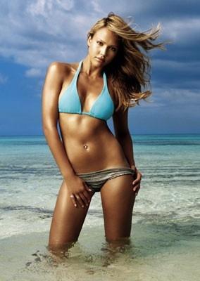 Jessica Alba sexy sirena