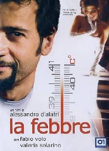 La copertina DVD di La febbre