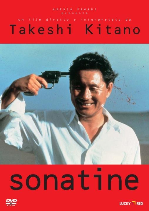 La copertina DVD di Sonatine