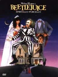 La copertina DVD di Beetlejuice - Spiritello Porcello