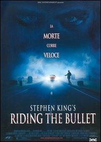 La copertina DVD di Riding the Bullet