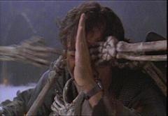 Bruce Campbell in una foto de L'ARMATA DELLE TENEBRE