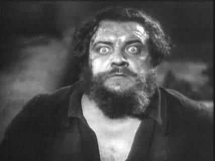 Heinrich George in una scena di METROPOLIS