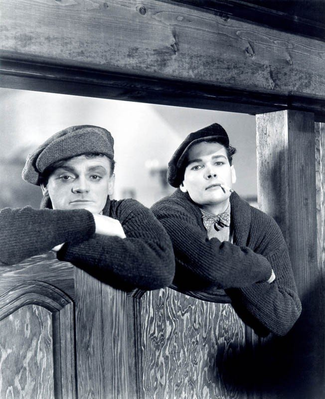 James Cagney ed Eddie Woods in  Nemico Pubblico