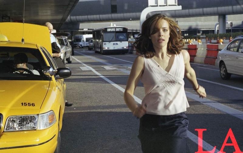 Rachel McAdams in una scena del film Red Eye