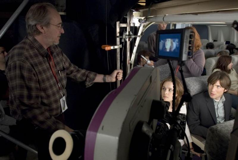 Sul set di Red Eye: Cillian Murphy Rachel McAdams e Wes Craven
