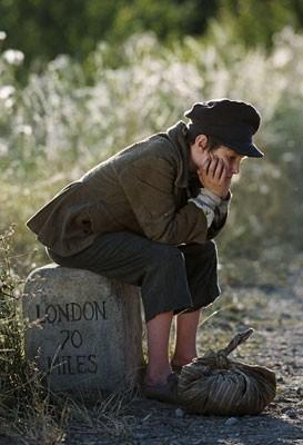 Barney Clark in una immagine di Oliver Twist di R. Polanski