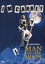 La copertina DVD di Man on the moon