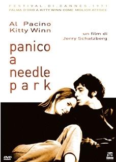 La copertina DVD di Panico a Needle Park