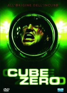 La copertina DVD di Cube Zero