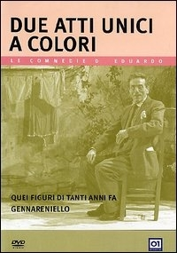 La copertina DVD di Due atti unici a colore