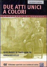 La copertina DVD di Due atti unici a colore - Collector's Edition