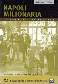 La copertina DVD di Napoli milionaria - Collector's Edition