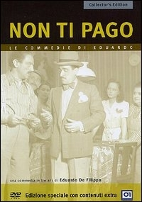 La copertina DVD di Non ti pago - Collector's Edition