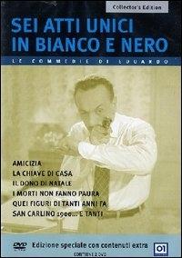 La copertina DVD di Sei atti unici in bianco e nero - Collector's Edition