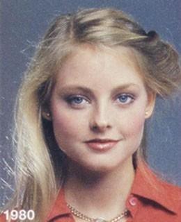 Jodie Foster nell'80