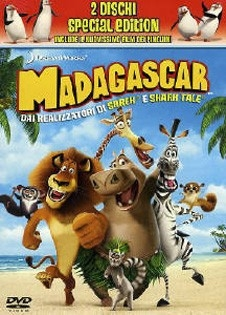 La copertina DVD di Madagascar - Edizione speciale