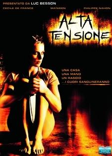 La copertina DVD di Alta tensione