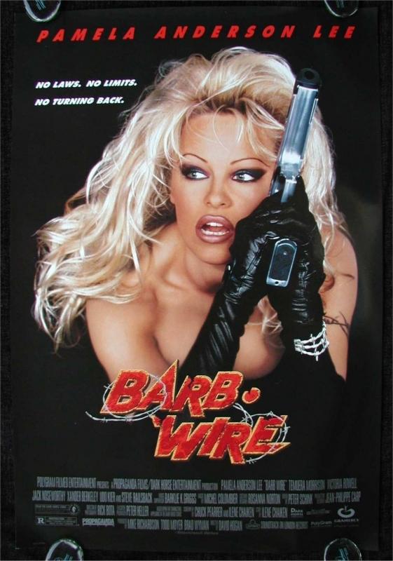 La locandina di Barb Wire