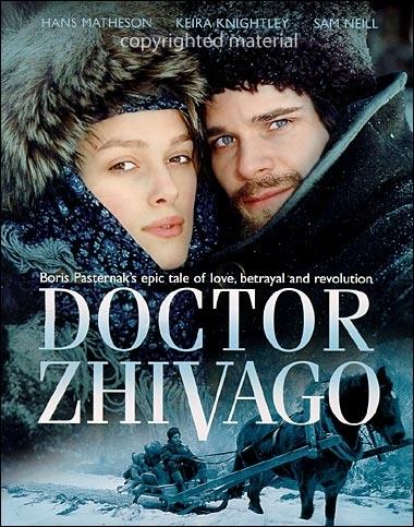 La locandina di Zivago