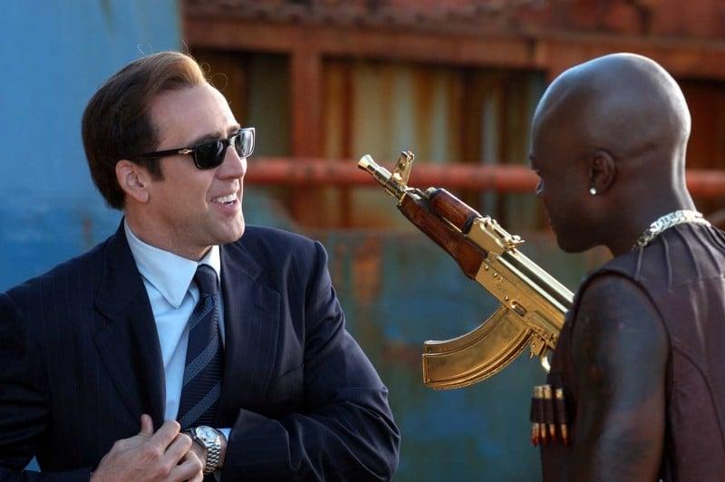 Nicolas Cage in una immagine del film Lord of War: 20016 ...