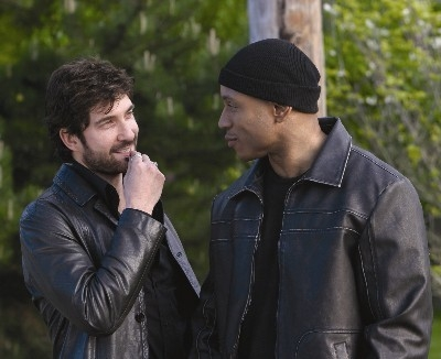 Dylan McDermott and LL Cool J in Edison
