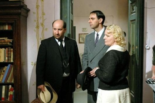 Katia Ricciarelli, Antonio Albanese e Neri Marcorè ne La seconda notte di nozze