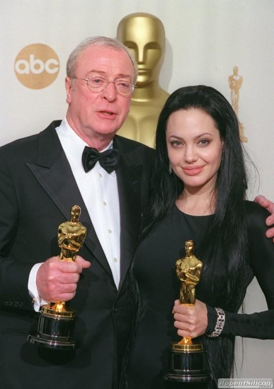 Michael Caine e Angelina Jolie