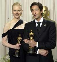 Nicole Kidman e Adrien Brody