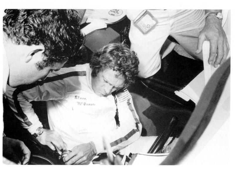 Steve McQueen e la sua passione, le macchine da corsa