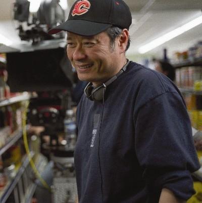 Ang Lee sul set di Brokeback Mountain