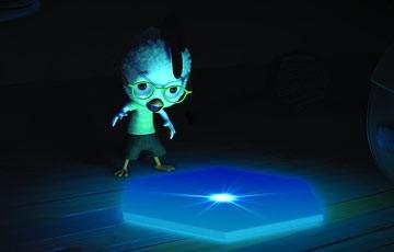 Il protagonista di Chicken Little - Amici per le penne