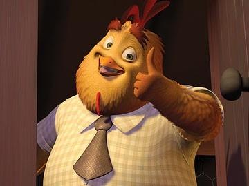 Uno dei simpatici personaggi di Chicken Little - Amici per le penne