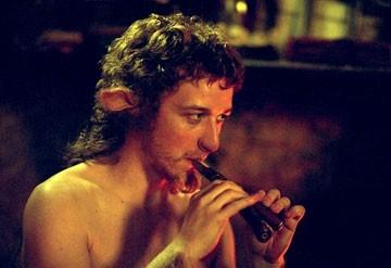 James McAvoy in una scena del primo film de Le Cronache di Narnia