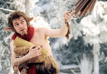 James McAvoy in una scena di Narnia
