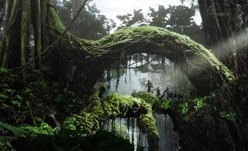 Una suggestiva sequenza di King Kong (2005)