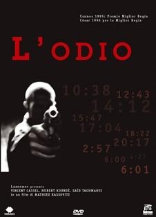 La copertina DVD di L'odio