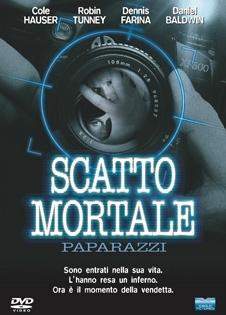 La copertina DVD di Scatto mortale - Paparazzi