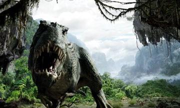 Una scena di King Kong