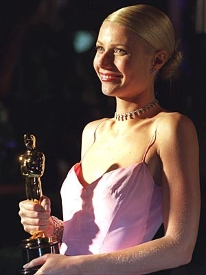 Gwyneth Paltrow con il suo Oscar