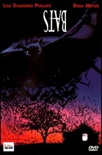 La copertina DVD di Bats