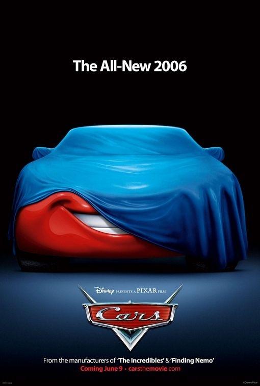 teaser poster di Cars