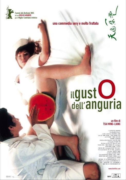 La locandina italiana de Il gusto dell'anguria