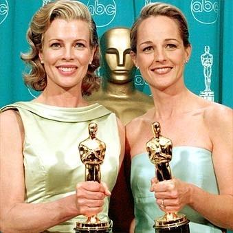 Le bellissime Kim Basinger e Helen Hunt