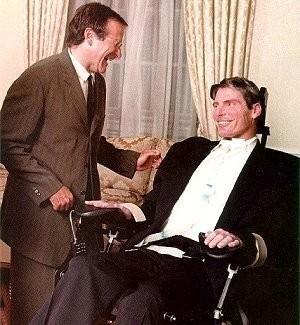Robin Williams e Christopher Reeve