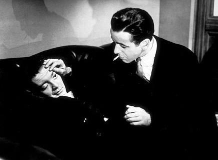 Bogart e Lorre nel noir Il mistero del falco