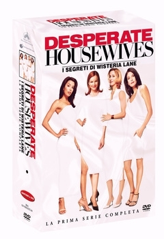 La copertina DVD di Desperate Housewives