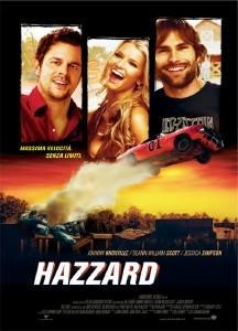 La copertina DVD di Hazzard