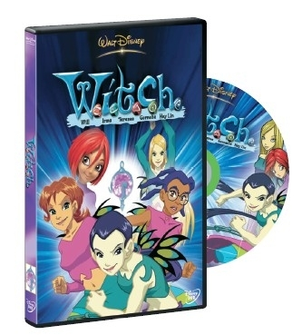 La copertina DVD di W.I.T.C.H. - Prima serie