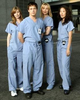 Una foto promozionale di Grey's Anatomy
